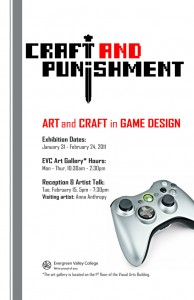 Craft and Punishment flyer